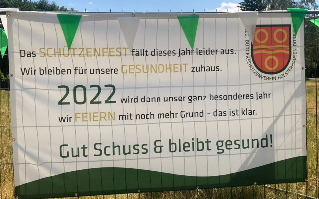Fahnenabnahme Schützen Dorf-Holsterhausen