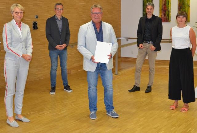 Holger Lohse Förderbescheid für die Stadt Dorsten