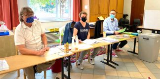Wahllokal-Albert-Schweitzer-Schule-Hervest