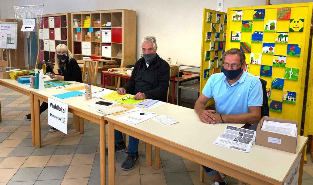 Wahllokal-hervest