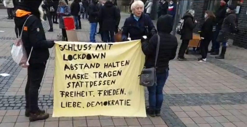 Querdenker Demo Dorsten
