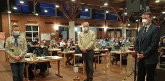 Dorstener Friedenslicht bei der Ratssitzung
