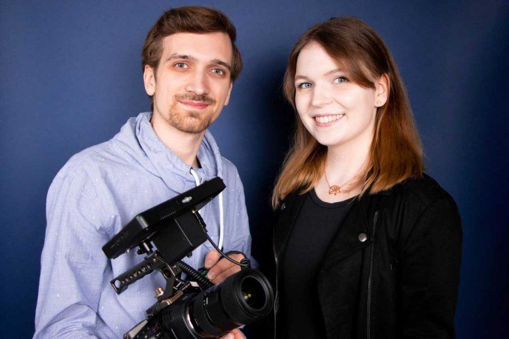 Sarah Wieck und Niklas Michalik erhalten  begehrtes Stipendium des Mediengründerzentrum NRW