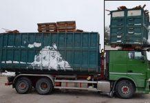 LKW aus dem Verkehr gezogen Wulfen