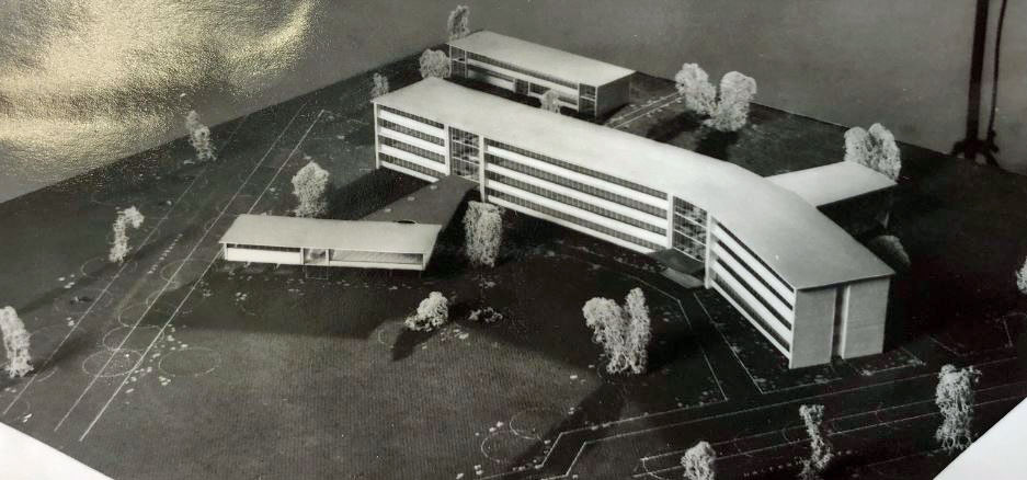 Dorsten Rathaus-Modell