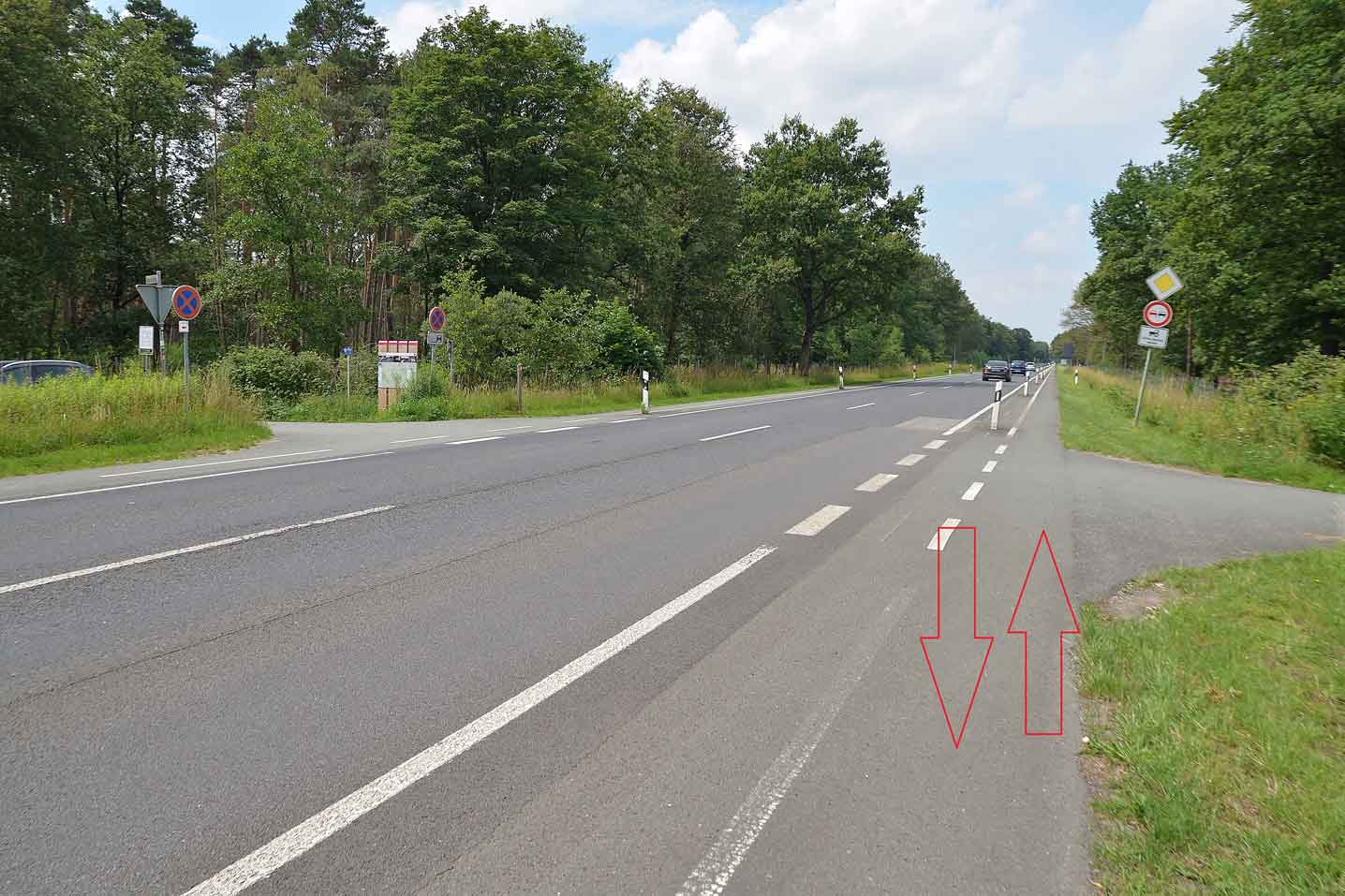 Querung-Üfter-Mark-Rhader-Weg-B224
