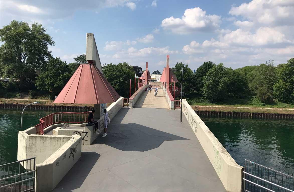 Brücke-Hochstadenbrücke-Petrinum-Dorsten