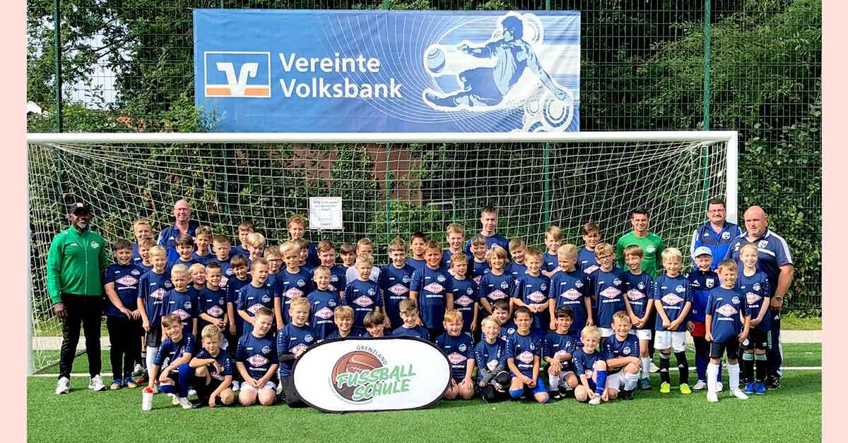 Fußballschule Grenzland beim !SC BW Wulfen